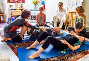 Psoas release practice demonstration